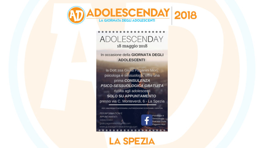 Adolescenday 2018 La Spezia