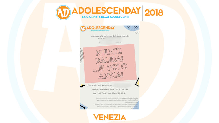 Adolescenday 2018 Venezia